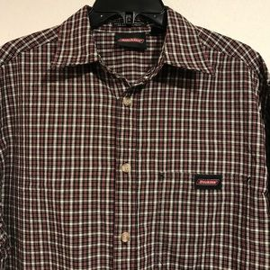 Dickies Long Sleeve Button Up (med)
